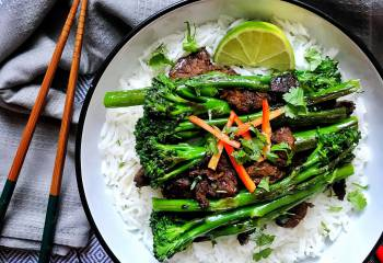 Chinese Tenderstem Broccoli And Beef Stir-Fry