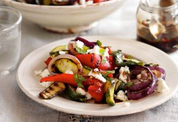 Slimming World Courgette, Red Pepper And Feta Salad Recipe