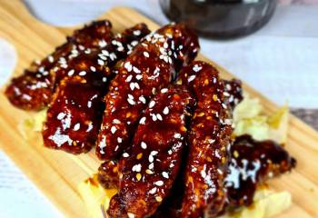 Sticky Sesame Chicken Strips | Tgis Fakeaway Recipe | Slimming Friendly