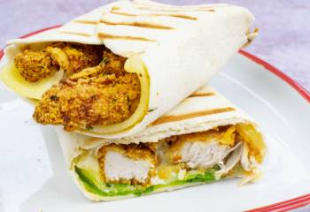 Low Syn Crispy Chicken Wrap Fakeaway