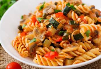 Sw Recipe: Vegetable Pasta In The Slow Cooker
