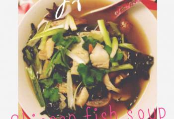 Slimming World Chinese Fish Soup & Rice Noodles (Syn Free)