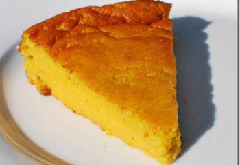 Orange And Almond Pudding Cake