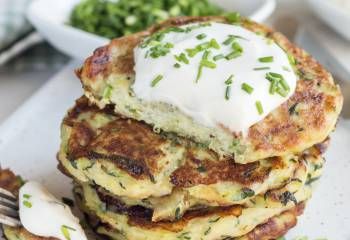 Syn Free Courgette Fritters