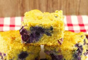 Blueberry Cornbread Recipe