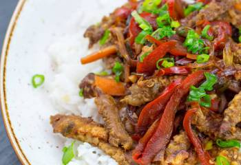 Low Syn Crispy Chilli Beef