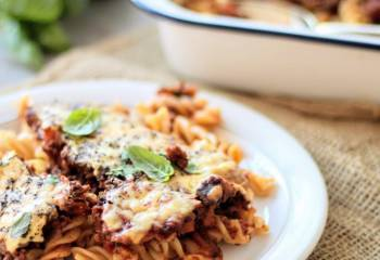 Slimming World Syn Free Slow Cooker Bolognese Pasta Bake