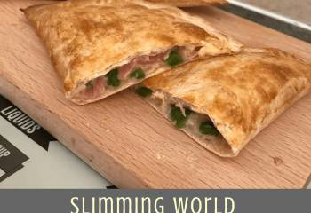 Slimming World Ham, Cheese And Pepper Pasty (Syn Free)