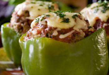 Sw Recipe: Big Mac Stuffed Peppers In The Slow Cooker