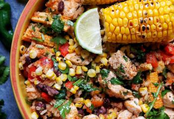 Sw Recipe: Mexican Lime &Amp; Chicken Rice