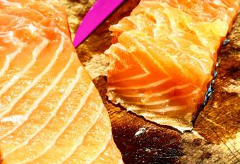 Home Cured Salmon Fillets