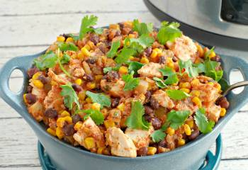 Slow Cooker Mexican Chicken &Ndash; Healthy &Amp; Ww Friendly (O Points!)