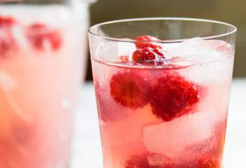 Raspberry Vodka Fizz