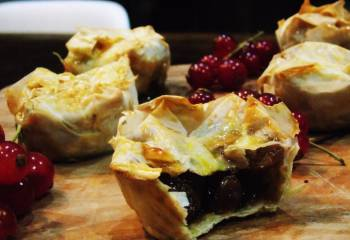 Low Syn Filo Pastry Mince Pies