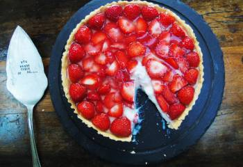 Summer Strawberry Tart With Low Syn Homemade Pastry