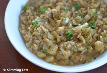 Fennel And Sweet Cipollini Onion Risotto