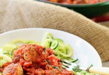 Slimming World Syn Free Turkey Meatballs In Tomato Sauce