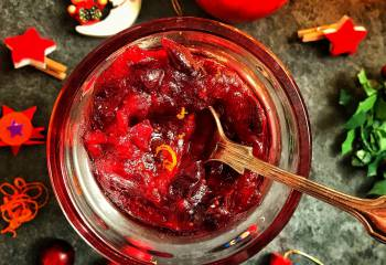 Best Ever Cranberry Sauce