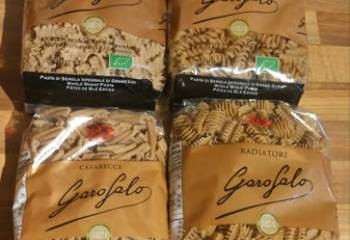 Review & Recipes:- Garofalo Organic Whole Wheat Pasta Range