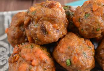 Pork And Sweet Potato Meatballs