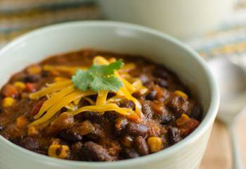 Southwestern Black Bean Soup