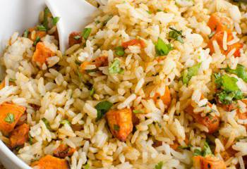Roasted Butternut Squash Rice