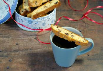 Black Forest Biscotti