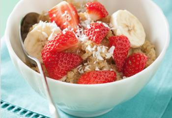Syn Free Low Calorie Coconut Quinoa Porridge | Slimming World Recipe