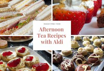 Mother's Day Afternoon Tea Recipes With Aldi