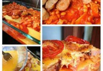 All Day Breakfast Lasagne - Free On Extra Easy Plan