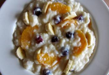 Sw Recipe: Fruity Rice Pudding