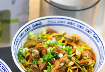 Syn Free Spiralized Chow Mein | Slimming World