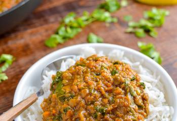 Syn Free Spicy Lentils And Spinach (Stove Top And Instant Pot) | Slimming World