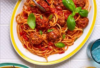 Vegan Spaghetti And Meatballs