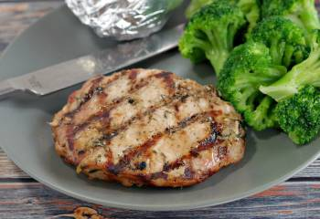 Marinated Grilled Maple Lemon Pork