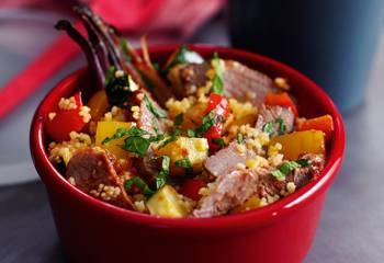 Slimming Worlds Minted Lamb Couscous Salad Recipe
