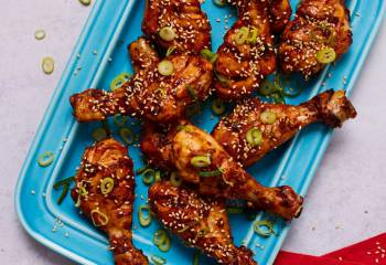 Sticky Sesame Chicken Drumsticks