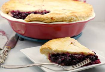 Saskatoon Berry Pie Filling And Sauce