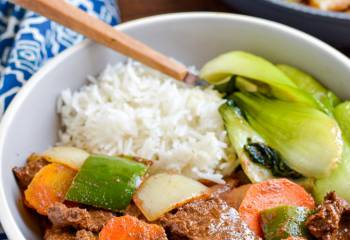 Low Syn Satay Beef And Vegetables | Slimming World