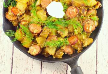 Ukrainian Breakfast Hash