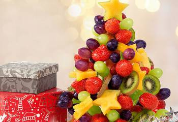 Fruity Christmas Tree