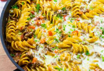 Pasta Bolognese Bake | Slimming World & Weight Watchers Friendly