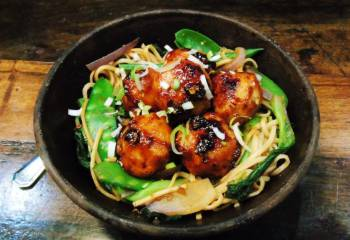 Syn Free Teriyaki Sauce With Chicken Meatballs