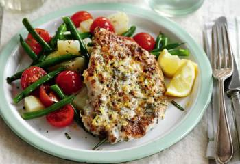 Slimming Worlds Lemon And Garlic Chicken With A Warm Potato Salad Recipe