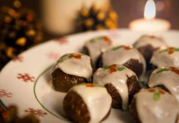 Mini Chocolate Orange Christmas Puddings