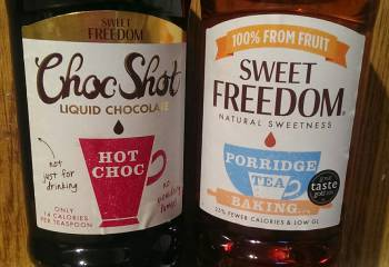 Recipe: Choc Shot & Sweet Freedom Treats