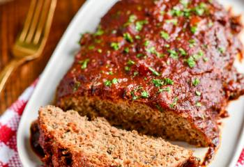 Slow Cooker Chicken Mushroom Meatloaf