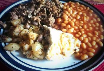 Recipe: Slimming World Full English