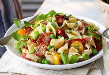 Slimming Worlds Bacon And Roast Tomato Pasta Recipe