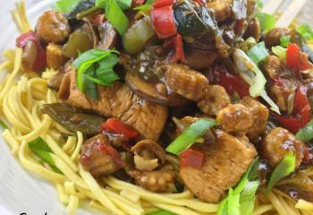 Fakeaway Chicken In Black Pepper Sauce